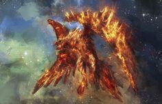 El ave de fuego, de la mitología eslava (rusa)