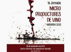Jornada de Micro Productores de Vino Andorra 2013