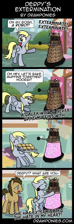 Comic: Derpy's Extermination by drawponies on deviantART