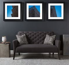 Set of Three Close-up Elements from the National Museum of African American History and Culture - Framed Picture - Canvas Gallery Wrap.  #Closeup #BlueSky #FramedPrint #HistoryAndCulture #WashingtonDc #Museum #Architectural #NationalMuseum #FramedeCanvas #AfricanAmerican