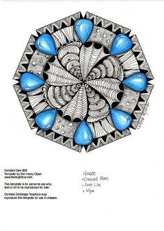 The Bright Owl: Zendala Dare #28c