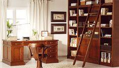 Bibliotecas con escalera para el hogar