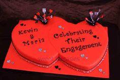 Engagement Cakes - sweet fantasies cakes - Stoke-on-Trent