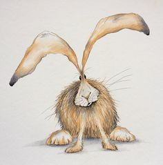 Thank you for viewing my quirky hare drawing! This is an original colour pencil drawing with pen detailing. It is a one-off unique piece of art work, not a print. Measures 38cm x 38cm. The drawing will be signed and dated. Please note it does not have a frame or mount. It will be