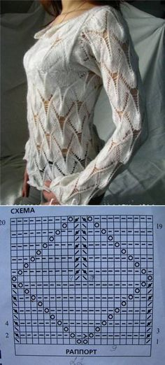 Tutorial for Crochet, Knitting. Keka❤❤❤ Tutorial for Crochet, Knitting. Lace Knitting Patterns, Knitting Stiches, Knitting Charts, Lace Patterns, Knitting Designs, Knitting Projects, Hand Knitting, Lace Sweater, Oregon Coast