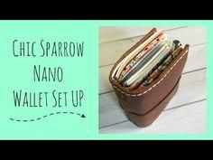 Chic Sparrow Nano   Wallet SET UP! - YouTube