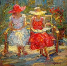 Reading and Art: Diane Leonard