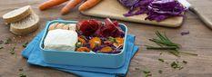 Bresaola, verdura e cavolo cappuccio per una schiscetta creativa e colorata. A rendere la preparazione ancora più cremosa, il nostro Certosino!