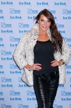Lizzie Cundy Spandex Leather | Lizzie Cundy attend the launch of the Natural History Museum