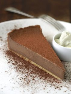 Milk Chocolate Tart