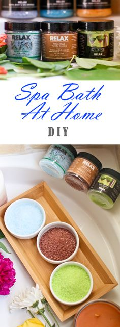 How to create the perfect spa bath at home in 10 simple steps! This is the perfect DIY for anyone who just needs to destress! @RelaxSpaandBath