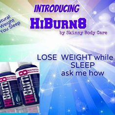 I don't have trouble sleeping. And burning fat 2 while I'm at it. Sleep well in the Lord. If you want to begin your weight loss journey with me or know more about this product go here www.greater.discoverhiburn8.com