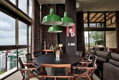 Luxury and Dramatic Contemporary Apartment 9