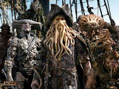 A gallery of Pirates of the Caribbean: Dead Man's Chest publicity stills and other photos. Featuring Johnny Depp, Orlando Bloom, Keira Knightley, Bill Nighy and others. Davy Jones, Johnny Depp, On Stranger Tides, Good Movies On Netflix, Flying Dutchman, Prince Of Persia, Pirate Life, Pirate Art, Movie Wallpapers