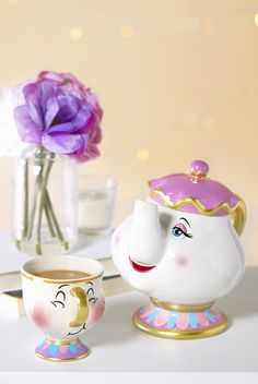 Primark Home Beauty and the Beast, Chip and Mrs Potts