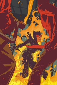 The Art of Joshua Middleton: Catwoman