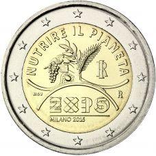Expo Milano 2015, Expo 2015, Piece Euro, Euro Coins, Commemorative Coins, World Coins, Coin Collecting, Things To Come, Bronze