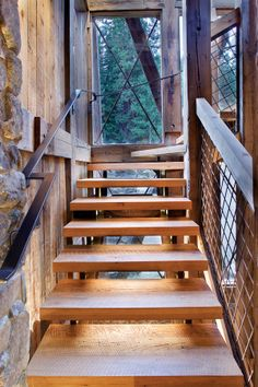 Mountain living - the handrail is lovely