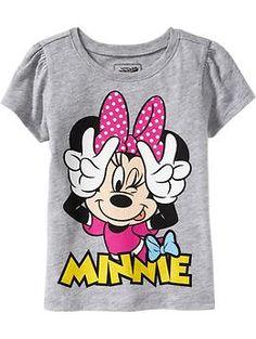 Disney© Minnie Mouse Tees for Baby @Donna Maywald Navy, Alanna LOVES Minnie!