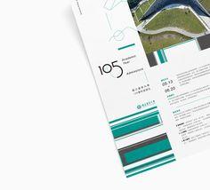 《NTTU 105 Academic Year admission》Poster Design on Behance Poster Design Layout, Banner Design, Behance