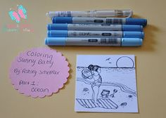 The Stamping Boutique: Copic Tutorial- Coloring Water by Ashley Scheffler