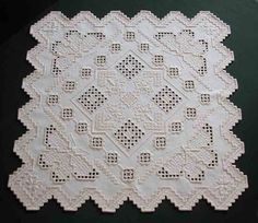 Hardanger,Broderie,Embroidery,Mary Swartz