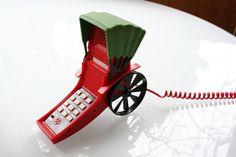 vintage rickshaw phone