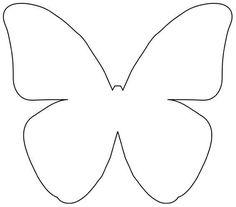 Бабочки - очень красиво ) Diy Butterfly Decorations, Butterfly Outline, Butterfly Template, Butterfly