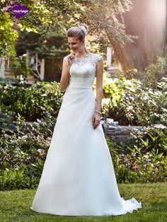 Robe de mariée Erica, robe de mariée effet de transparence, robe de mariage…