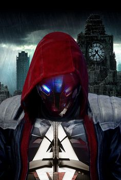 Red Hood/Arkham Knight by ArkhamNatic on DeviantArt Batman Red Hood, I Am Batman, Batman Art, Batman Stuff, Superman, Red Hood Costume, Red Hood Cosplay, Red Hood Jason Todd, Jason Todd Batman