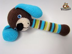 Crochet Baby Toys, Crochet For Kids, Crochet Dolls, Baby Knitting, Amigurumi Patterns, Knitting Patterns, Crochet Patterns, Wooden Baby Toys, Teething Toys