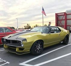 1972 AMC Javelin with and Extended wheelbase mod