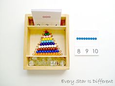 Every Star Is Different: Montessori-inspired Math Activities Using Bead Bars w/ Free Printables