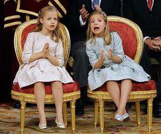 La princesa Leonor y la infanta Sofía, en rosa y verde, para la proclamación - Foto 8