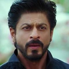 Gosh this look  I love Shahrukh with a beard But he always looks good