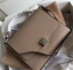 Celine Collection Outlet-Celine Trapeze Bag with BROWN