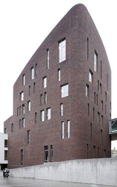 sint lucas brussel - poponcini & lootens ir. architecten