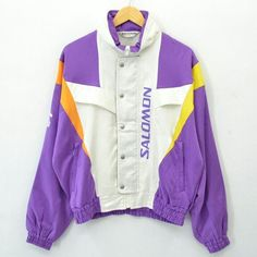 Vintage Kappa Sport Purple 2 Piece Track Suit Winbreaker Covertable Hood Med Clothing, Shoes & Accessories Activewear