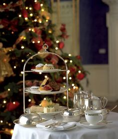 holiday high tea