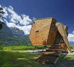 If It's Hip, It's Here: The Ufogel Is A Cool and Cozy Rentable Refuge in Austria.