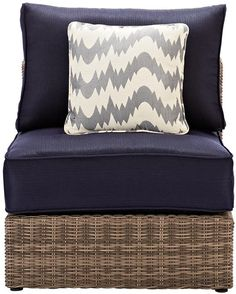 Home Decorators Collection Outdoor Sectional, Couch, Sofa, Naples, Backyard, Patio, Love Seat, Throw Pillows, House Ideas