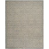 comes in 8 ' round Found it at Wayfair - Cambridge Dusty Blue/Cement Area Rug