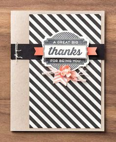 From Shelli's blog (card by Shelli Gardner) OH MY GOODIES stamp set