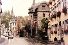 Street of Bernkastel-Kues, Germany