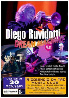 Dream Machine - Diego Ruvidotti Concert