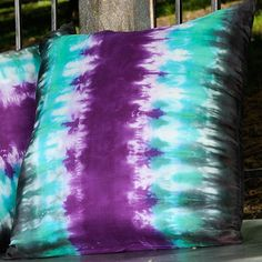 I want lots of cool accent pillows for my bed or windowsill! Tie dye is among the many designs that I want the pillows to have.