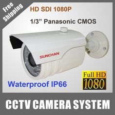 "Cheap camera polo, Buy Quality sdi hdmi directly from China camera home security system wireless Suppliers:  SunChan Full 1080P HD SDI Camera 1/3"" Panasonic 2.1Megapixel 1200TVL IR Distance 15-20M      SUNCHAN 4CH CCTV Syst"