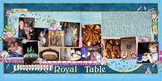 Cinderella's Royal Table - perfect colours!