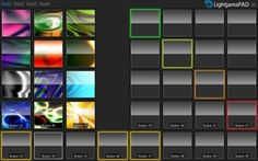 Launchpad OSC interface for DMX lighting control.