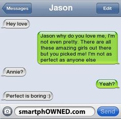 Page 8 - Autocorrect Fails and Funny Text Messages - SmartphOWNED aww now that's a great bf Funny Shit, Funny Texts Jokes, Text Jokes, Funny Texts Crush, Funny Text Fails, Funny Love, Funny Quotes, Epic Texts, Funny Breakup Texts